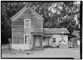 SOUTHEAST FRONT - Isaac Graham House, Cabrillo Highway, Pescadero, San Mateo County, CA HABS CAL,41-PESC,4-4.tif