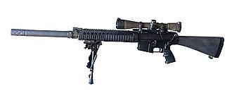 Knight's Armament Company SR-25 - Image: SR 25 pic 02