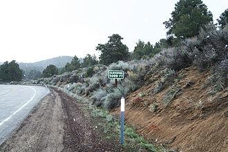 Walker Pass - The approach to Walker Pass