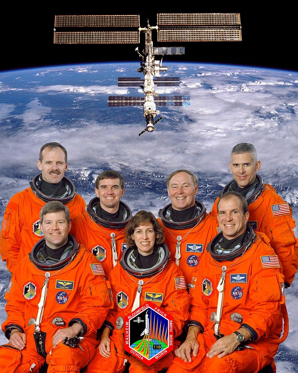 STS-110 crew