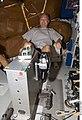STS-127 Doug Hurley works out.jpg