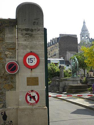 Saint-Vincent Cemetery - Entrance of Saint-Vincent Cemetery