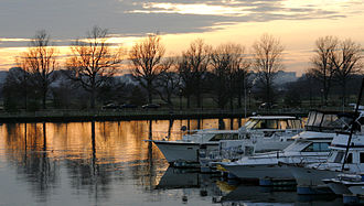 Washington Channel - View of the Washington Channel from the Southwest Waterfront.