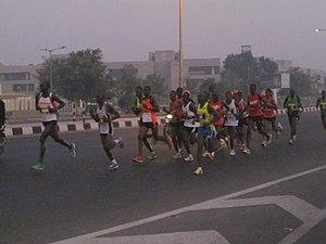 Sabarmati Marathon - Participants in 2011