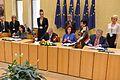 Saeimas priekšsēdētāja piedalās ES nacionālo parlamentu spīkeru konferencē Viļņā (13692350625).jpg