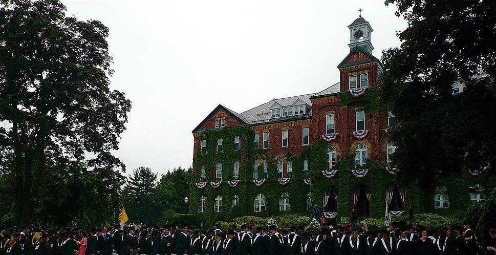 Saint Anselm College Graduation