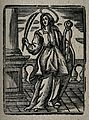 Saint Apollonia. Woodcut Wellcome V0031631.jpg