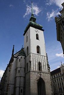 Church of St. James (Brno) church in Brno-město District of South Moravian region