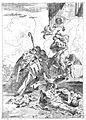 Saint Nicholas and Saint Roch invoking the help of the Virgi Wellcome L0013195.jpg