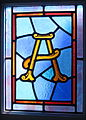 Saint Peter Catholic Church (Millersburg, Ohio) - stained glass, Alpha.jpg