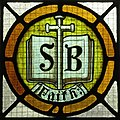 Saint Vincent de Paul Catholic Church (Mount Vernon, Ohio) - stained glass, Faith.JPG