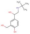 Salbutamol structure.png