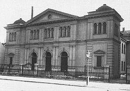 Salemkapellet i begyndelsen af 1900-tallet