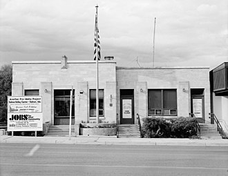 National Register of Historic Places listings in Lemhi County, Idaho - Image: Salmon City Hall and Library