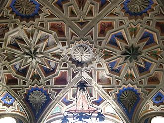 Sammezzano - Ceiling detail