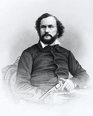 Samuel Colt - Image: Samuel Colt engraving by John Chester Buttre, c 1855