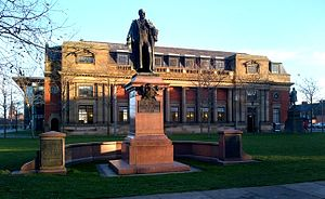Samuel Sadler - The Sir Samuel Alexander Sadler statue in Centre Square, Middlesbrough