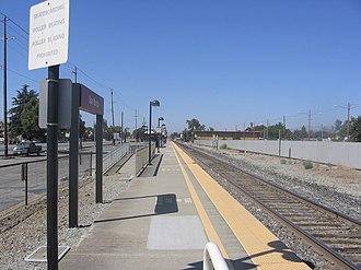 San Martin station - San Martin station in September 2012