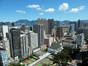 Wong Tai Sin District - Day view of San Po Kong in the Wong Tai Sin District