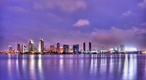 Panorama de la ciudad de San Diego