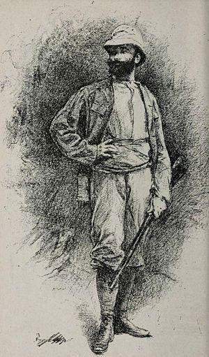 Aimé Olivier de Sanderval - Olivier in 1882