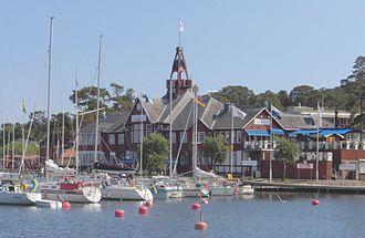 """Sandhamn - Seglarhotellet - """"The Sandhamn Sailing Hotel"""""""