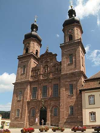 Sankt Peter, Baden-Württemberg - Image: Sankt Peter, die Klosterkirche Sankt Peter und Paul foto 122013 07 25 12.54