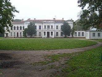Sanniki, Masovian Voivodeship - Fryderyk Chopin Palace and Park, Sanniki