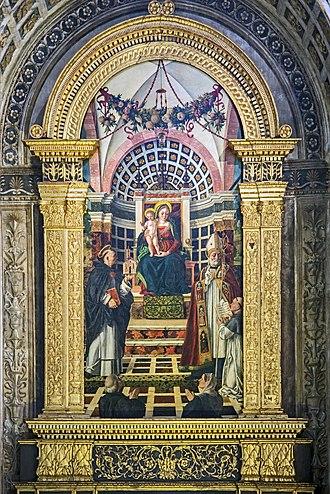 Girolamo dai Libri - Image: Santa Anastasia (Verona) Centrego altar