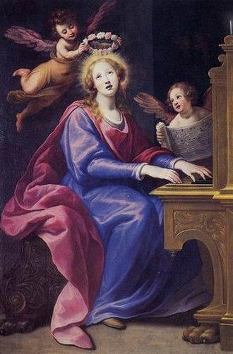 Matteo Rosselli - Matteo Rosselli, Santa Cecilia (1615-20),