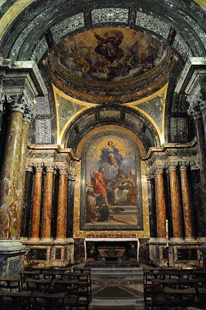 English: Photo of the Cybo Chapel of Santa Mar...