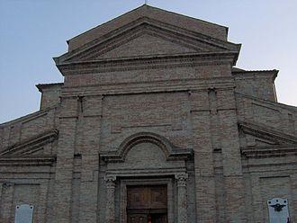 Picciano - S. Maria del Soccorso Church, Picciano, Façade
