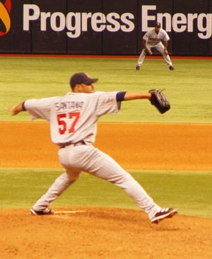 2004 Minnesota Twins season - 2004 AL Cy Young Award winner Johan Santana.
