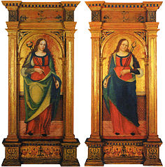 Saints Agatha and Apollonia
