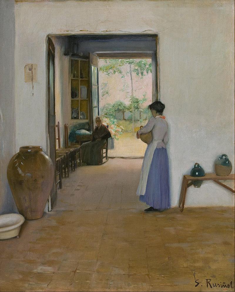 Santiago Rusiñol - Sitges Interior - Google Art Project.jpg