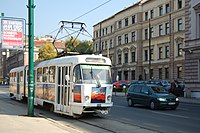 Sarajevo Tram-217 Line-3 2011-10-31.jpg