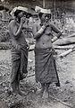 Sarawak; two native Lisum tribeswomen. Photograph. Wellcome V0037445.jpg