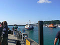 Sark Ferry arriving at the jetty, Guernsey - geograph.ci - 131.jpg