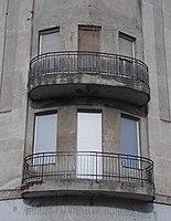 Sarokerkély, Szent István tér 23 (Zák Alajos, 1908), 2018 Újpest.jpg