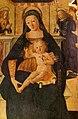 Saturnino gatti, madonna in trono col bambino e angeli, 1505, dalla cappella della torre civica all'aquila 02.jpg