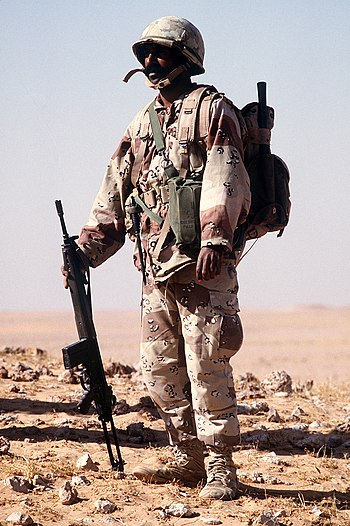 Saudi Soldier with G3.JPEG