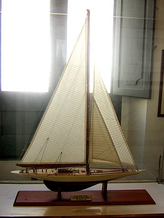 Ranger (yacht) - A model of the Ranger