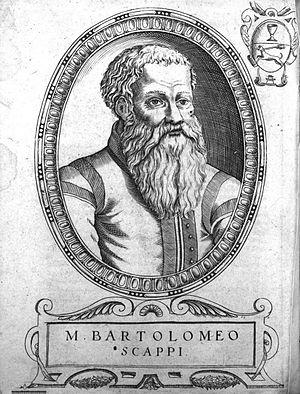 Foie gras - Bartolomeo Scappi