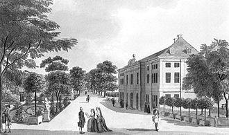 Schönhausen Palace - Schönhausen about 1787