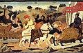 Scheggia, ritorno trionfale di scipione l'africano a roma, 1450 ca. 03.jpg