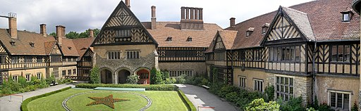 Schloss Cecilienhof Panorama
