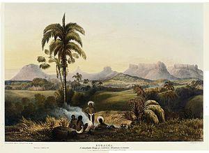 Charles Bentley (painter) - Roraima, a mountain range in Guiana