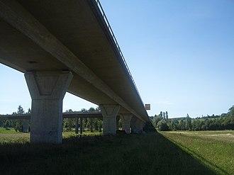 Schussen - Image: Schussentalbrücke Ravensburg 2
