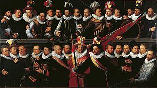 Haarlem schutterij in 1594