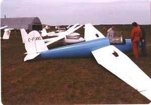 Schweizer Aircraft - Schweizer SGS 1-23D sailplane. The 1-23 was first flown in 1948